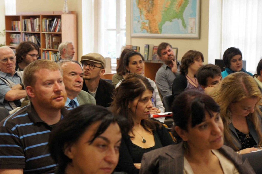 Audience Members at the Future of Translation Panel in Sofia / credit Simona Ilieva