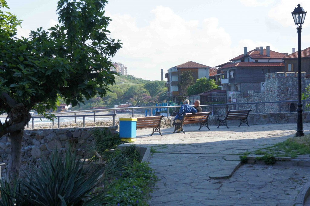 Approaching the Beach in Sozopol / credit Jeremiah Chamberlin
