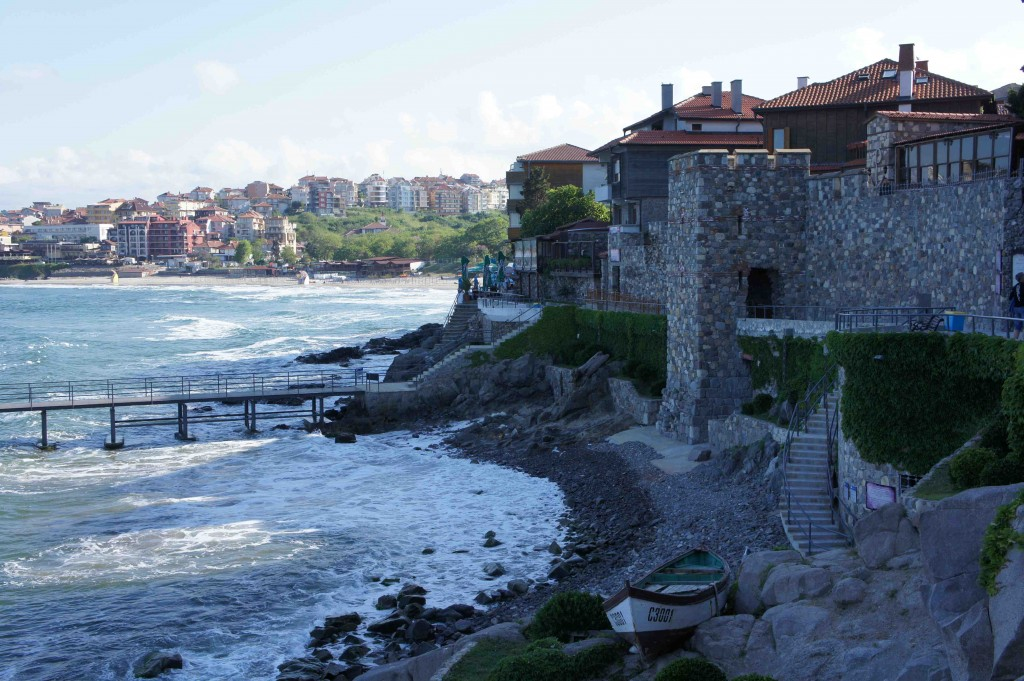 Along the Black Sea in Sozopol / credit Jeremiah Chamberlin