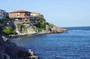 Overlooking the Sea in Sozopol / credit Jeremiah Chamberlin