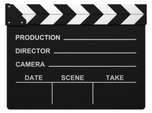 Movie Clapboard by Diane M. Byrne on Flickr