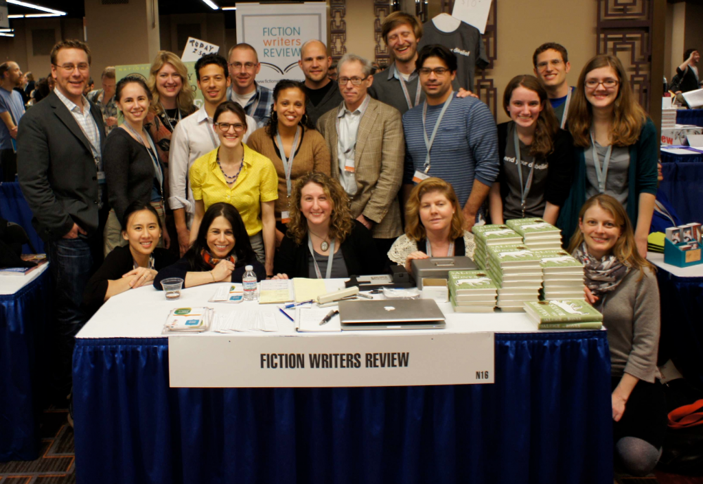The FWR team and some of our wonderful contributors