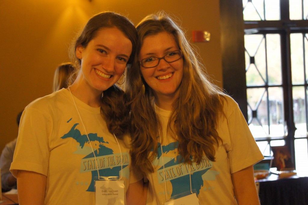 UROP Interns Emily VanDusen (left) and Paige Lester
