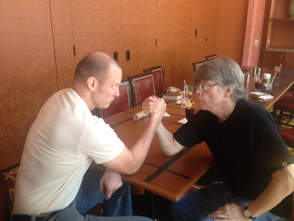 Josh Hanagarne Arm-Wrestling Stephen King