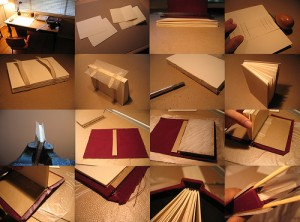 bookbinding / photo by Nate Steiner