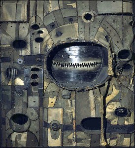 Work by Lee Bontecou: Image from the artist's Facebook page