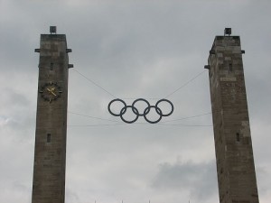 Olympic Rings in Berlin / photo credit: Will Palmer