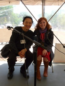 Sung Woo and Katie Crouch