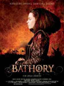 A poster from *Bathory*, Juraj Jakubisko's 2008 film about the Bloody Countess