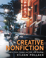 Pollack's new creative nonfiction anthology/textbook