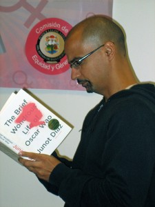 Junot Diaz / photo credit: Oquendo