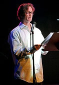 Eric Stoltz reads from *The Theory of Light and Matter* / photo credit: One Story