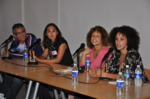 Panel from the Mixed Roots Film & Literary Festival / photo from http://www.mxroots.org/