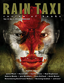 <em>Rain Taxi</em> is a quarterly book review that publishes distinct print and online editions.